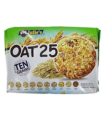 Julie's Oat 25 Ten Grains Cookies 200g