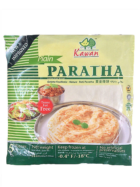 Kawan Plain Paratha Trans Fat Free 5 Pieces 400g