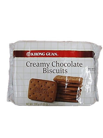 Khong Guan Creamy Chocolate Biscuits 200g