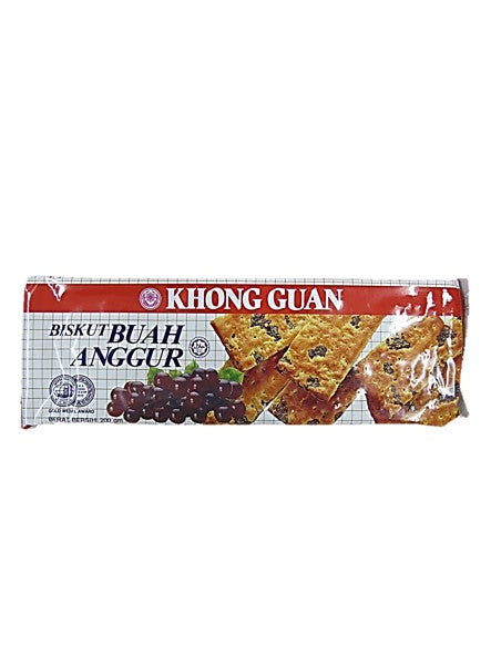Khong Guan Grape Biscuit 200g