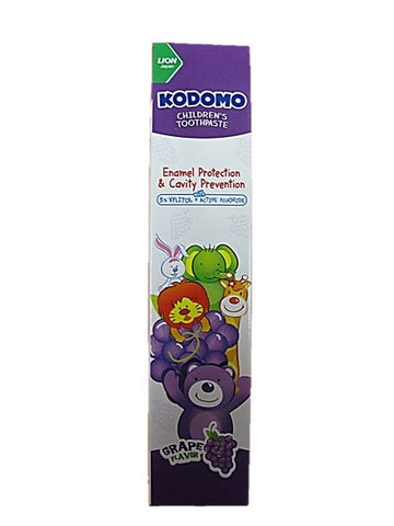 Kodomo Children's Toothpaste Grape Flavour 40g