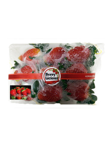 Fresh Imported Korean Strawberries ~500g