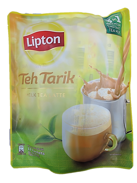 Lipton Teh Tarik (Milk Tea Latte) Instant Mix (12 Satchels x 21g)