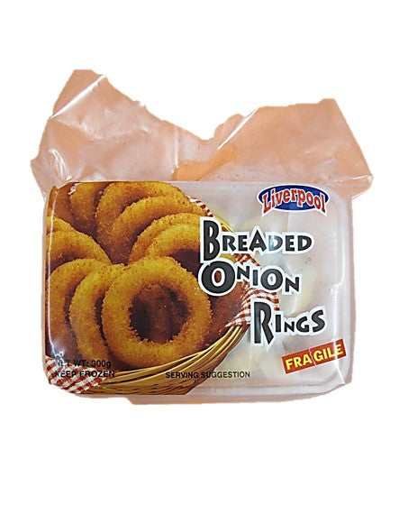 Liverpool Breaded Onion Rings 300g