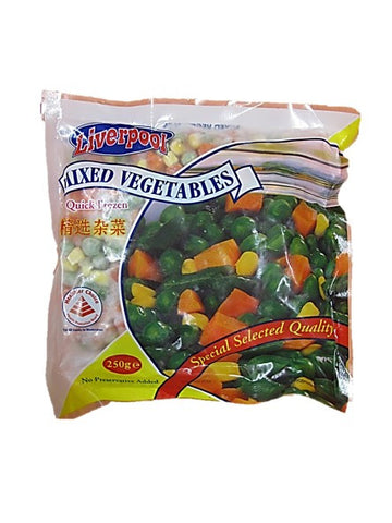 Liverpool Mixed Vegetables Special Selected Quality 250g