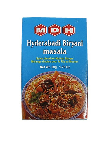 MDH Hyderabadi Briyani Masala Spice Blend for Mutton Briyani 50g