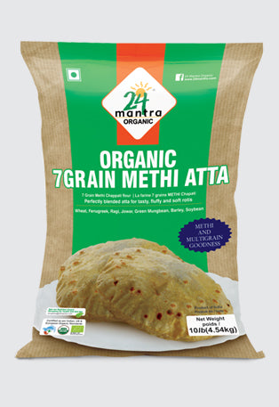 24 mantra organic 7 grain methi atta