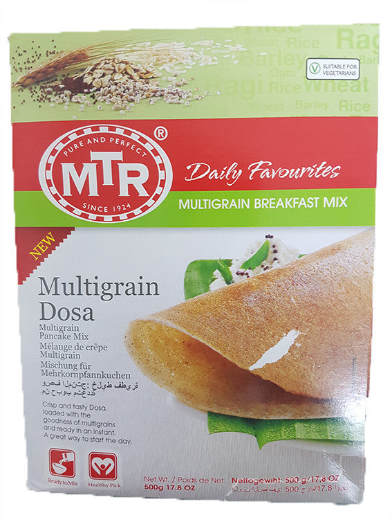 MTR Daily Breakfast Multigrain Breakfast Mix Multigrain Dosa 500g