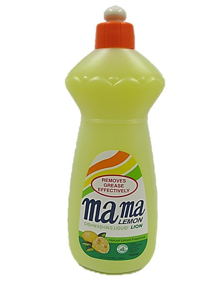 Mama Lemon Dishwashing Liquid Natural Lemon Fragrance