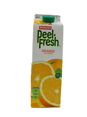 Marigold Peel Fresh Orange Juice Drink 1L