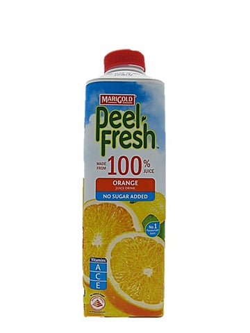 Marigold Peel Fresh 100% Orange Juice Drink No Sugar Added 1L