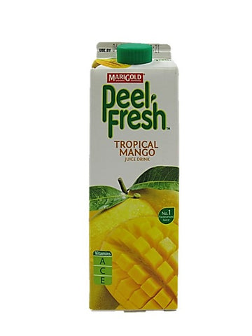 Marigold Peel Fresh Tropical Mango Juice Drink
