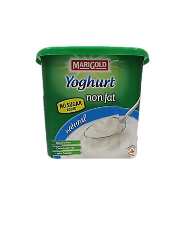 Marigold Natural Yoghurt Non Fat No Sugar Added 1kg