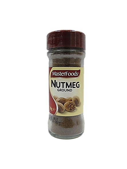 MasterFoods Nutmeg Ground 30g