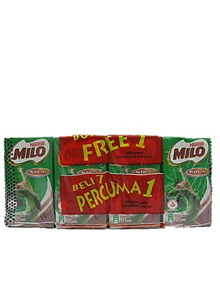 Nestle Milo Activ-Go (8 Pack X 125ml)