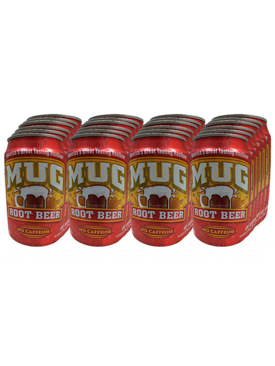 Mug Root Beer Canned Drink (Pack of 24 X 330ml)