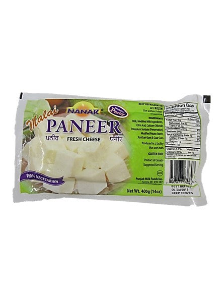 Nanak Paneer Fresh Cheese 400g 100% Vegetarian
