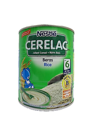 Nestle Cerelac (Infant Cereal with Milk) Rice After 6 Months 225g Tin