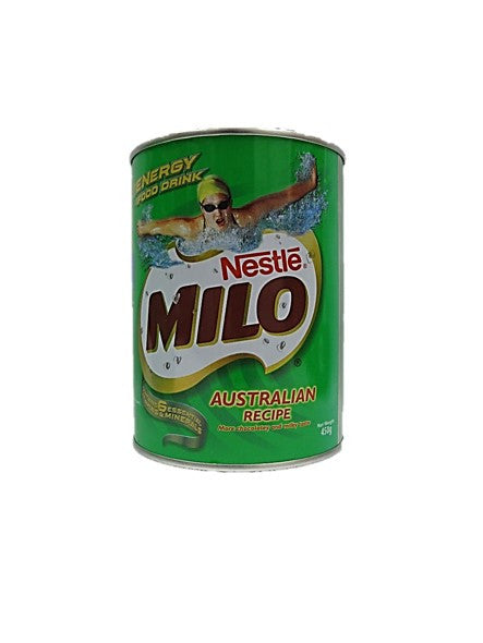 Nestle Milo Australian Recipe (More Chocolatey and Milky Taste) Tin 450g