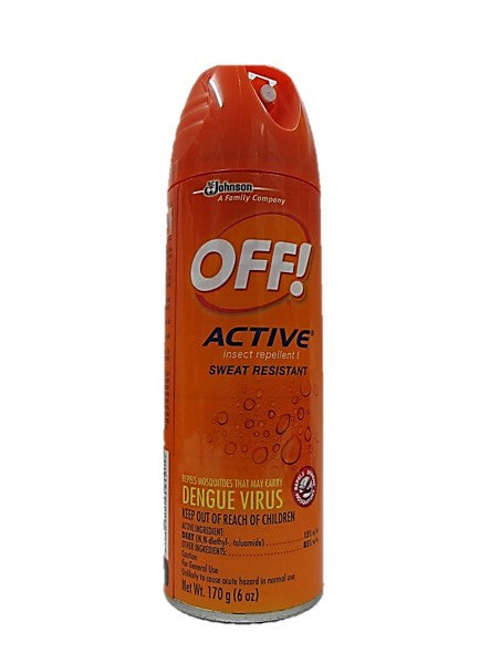OFF! Active Insect Repellent Sweat Resistant 170g