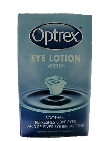 Optrex Eye Lotion with Eye Bath
