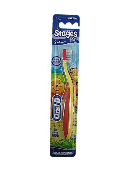 Oral-B Stages 2 2-4 Years old Toothbrush