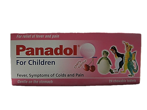 Panadol for Children 24 Chewable Tablets