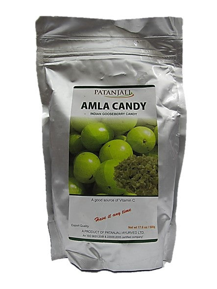Patanjali Amla Candy (Indian Gooseberry Candy) 500g