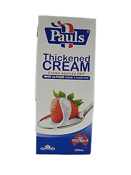 Pauls Thickened Cream 250ml