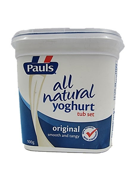 Pauls All Natural Yogurt Set