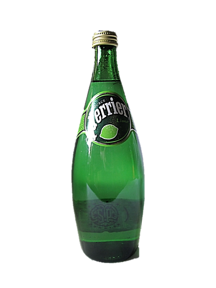 Perrier Sparkling Water Lime Bottle 750ml