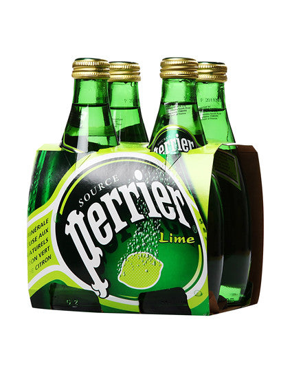 Perrier Sparkling Water Lime Flavour (4 Bottles X 330ml)