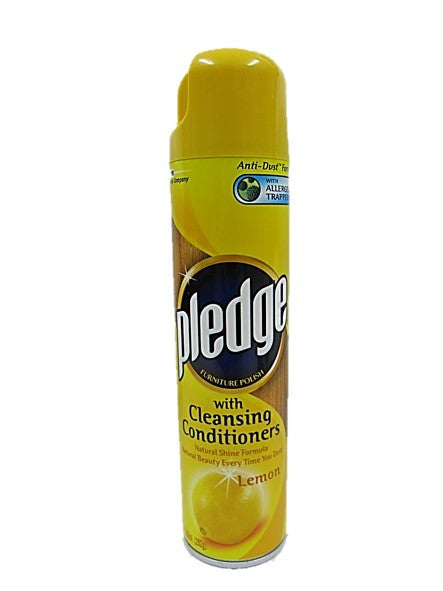 Pledge Furniture Polish with Cleansing Conditioner Lemon Flavour