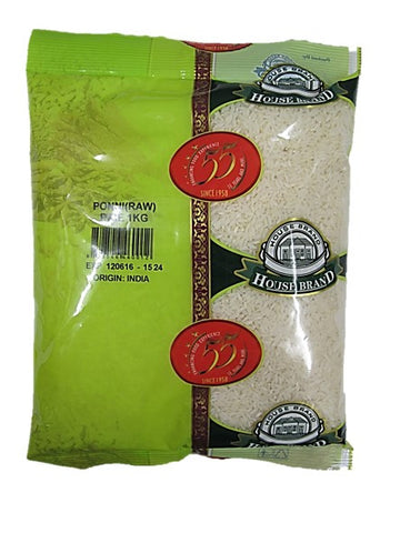 House Brand Ponni Rice (Raw) 1kg