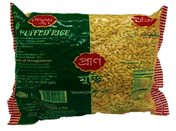 Pran Puffed Rice 200g