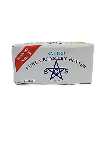 SCS Pure Creamery Salted Butter 250g
