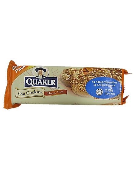 Quaker Oat Cookies Snack Pack 108g