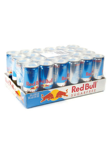 Austria Red Bull Sugar Free Energy Drink 24 Cans Carton (24 Cans x 250ml)