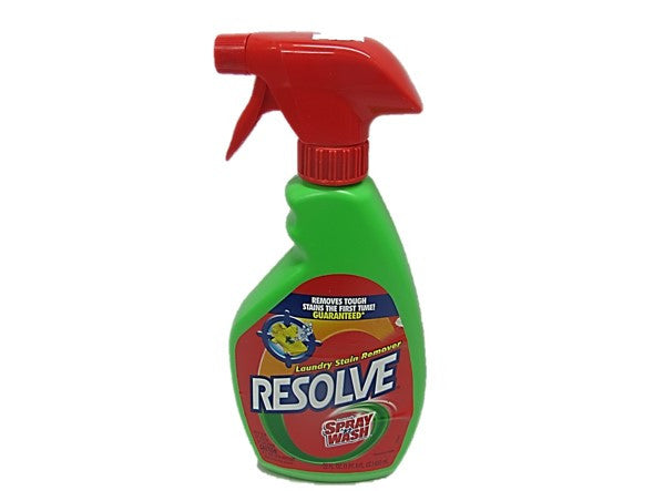 Resolve Clothes Stain Remover Spray Wash 750ml