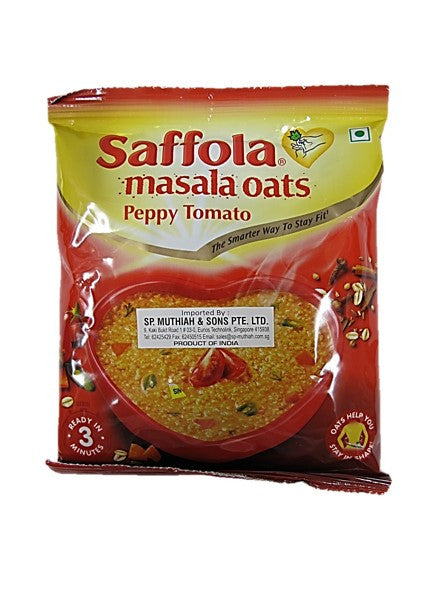 Saffola Masala Oats Peppy Tomato Packet 40g