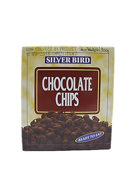 Silver Bird Chocolate Chips Ready to Eat 200g