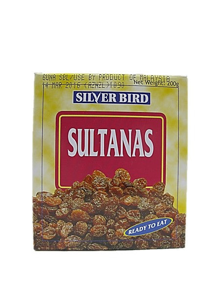 Silver Bird Sultanas Ready to Eat 200g