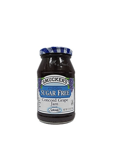 Smucker's Sugar Free Concord Grape Jam 361g