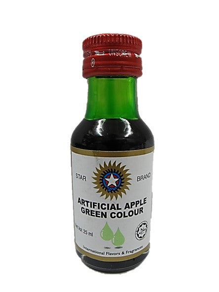 Star Brand Artificial Apple Green Colour 25ml