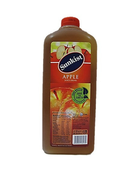 Sunkist Apple Juice Drink 2L