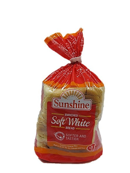Sunshine Enriched Soft White Bread 400g