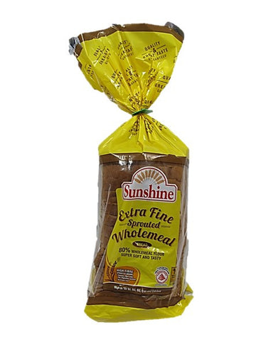 Sunshine High Fibre Extra Fine Sprouted Wholemeal Bread 550g