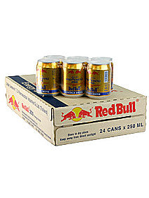 Thai Red Bull Energy Drink Cans Carton (24 Cans x 250ml)