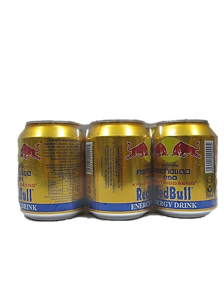 Thai Red Bull Energy Drink Can Pack (6 Cans X 250ml)