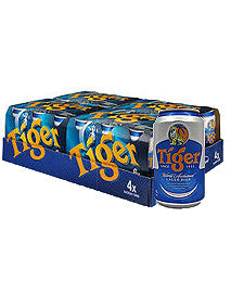 Tiger Can Beer 330ml x 24 Cans Carton
